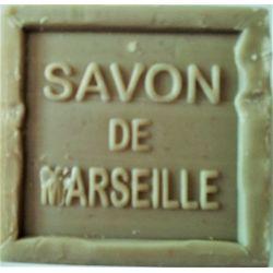 Savon de Marseille vert cube 300 grammes à l'huile d'olive