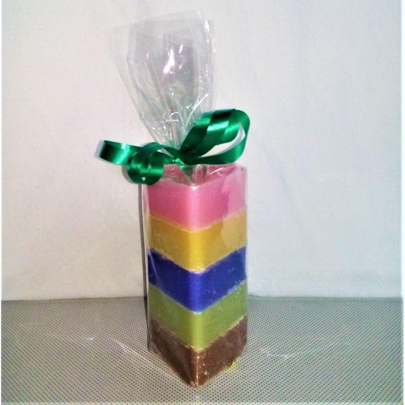 Emballage cadeaux 5 savons cœur 25 grammes